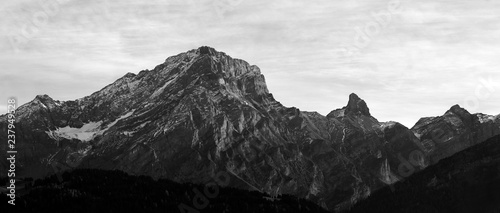 Photo sur Aluminium Gris Mountain