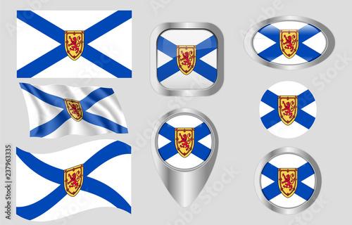 Fotografía Flag of Nova Scotia