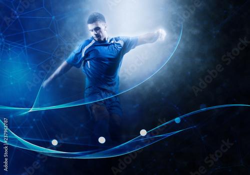 soccer player Fototapeta