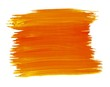 A fragment of the orangeand yellow color background painted with watercolors