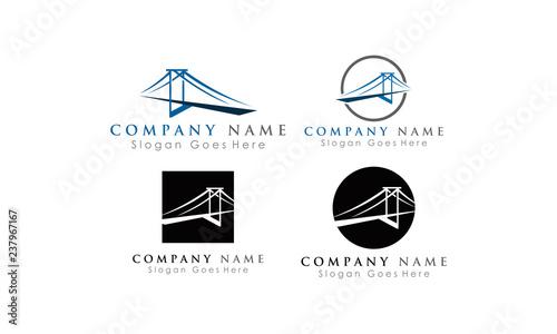 Valokuva  set bridge logo package