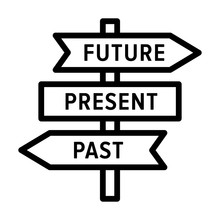 Future, Present And Past Road ...
