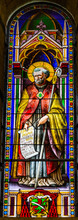 Saint Bernard Stained Glass Ba...