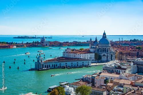 ヴェネチアの風景 サン・マルコ広場の鐘楼から
