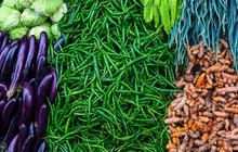 Fresh Vegetable On Organic Far...