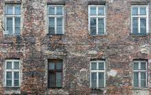 The Brown Box Window In The Ru...