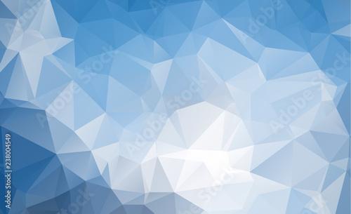 Fototapety, obrazy: Low polygon Triangle Pattern Background