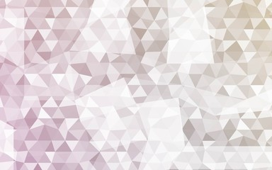 Vector Mosaic Background. Geometric Illustration in Origami Style. The Triangles Design. Can be used for Brochure Design..