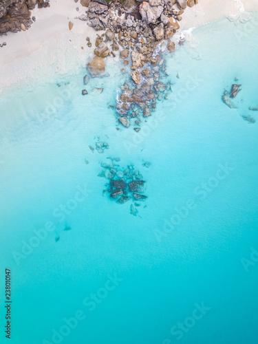 Fényképezés  Calm blue ocean