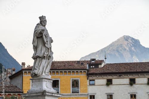 Fotografie, Obraz  Statue des Hl. Johann Nepomuk - Riva del Garda