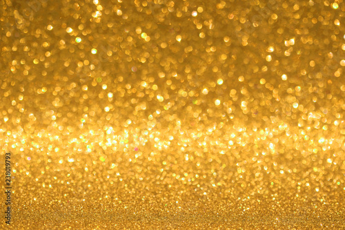 Foto auf AluDibond Artist KB gold glitter texture christmas background