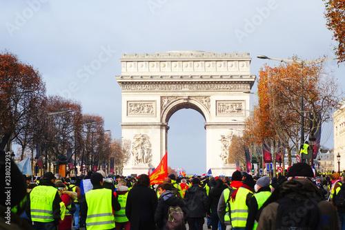 Valokuva  Gilets jaunes, Paris, 08/12/2018