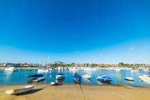 Balboa Island Under A Clear Bl...