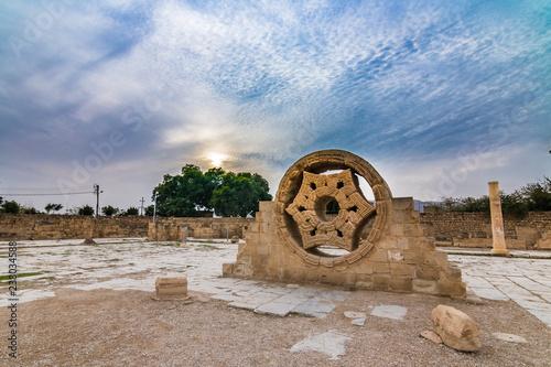 Hisham's Palace Remnant of Jericho, Palestine Canvas Print