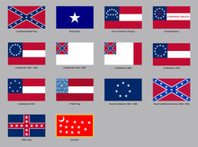 Historic Flags Of The Confeder...