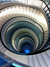 Double Spiral Staircase From A...