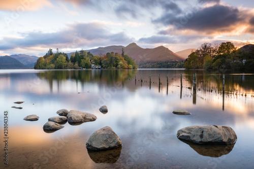 Lake District Fototapet