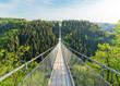 Leinwandbild Motiv the Geierlay suspension bridge
