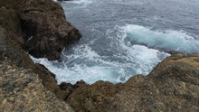 Point Lobos State Natural Reserve Ocean With Rocks In Carmel California USA