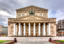 Bolshoi Theatre (Big Theater) In Moscow, Russia