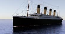 Titanic On The Sea