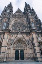 St. Vitus Cathedral In Prague Czech Republic
