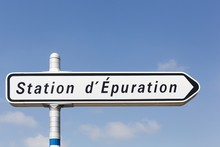 Panneau Routier Station D'épuration