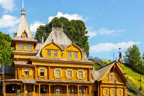 Complex City of Craftsmen on the banks of the Volga River Slika na platnu