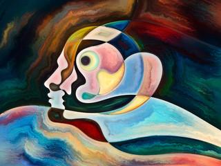 Fototapeta Abstrakcja Reality of Inner Colors