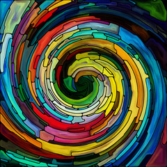 NaklejkaVisualization of Spiral Color