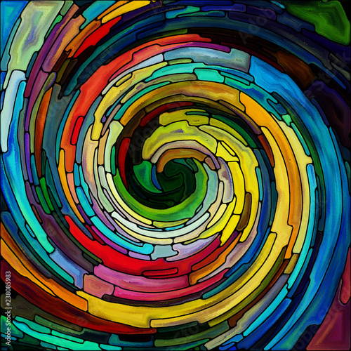 Visualization of Spiral Color