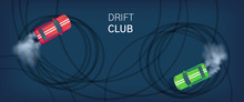 Drift Club Poster Or Web Banne...