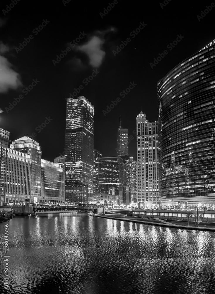 Big City Urban Skyline