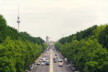 Berlin Summer Skyline Aerial V...