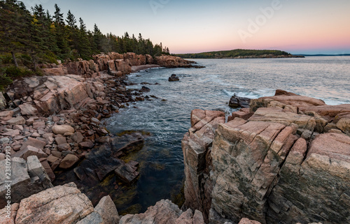 Canvas Prints Cappuccino Acadia National Park