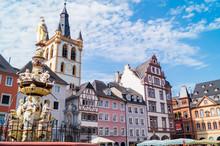 St. Gangolf Trier Marktplatz