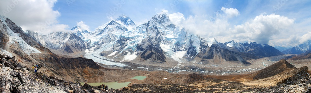 Fototapety, obrazy: Mount Everest Khumbu Glacier Nepal Himalayas mountains