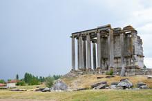 The Temple Of Zeus In  Aizano,...