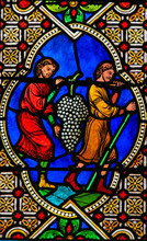 Stained Glass In Monaco Cathed...