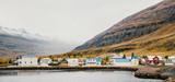 Fishing village on the east coast of Iceland