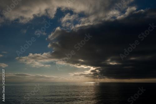 Fotografie, Obraz  sunset over the sea