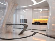 Kitchen Of The Future. Futuris...