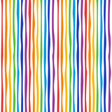 vertical curved rainbow lines, seamless pattern - 238125984