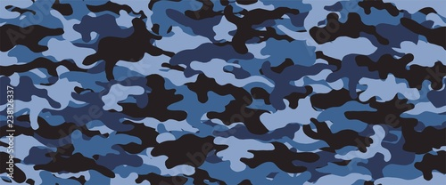Camouflage background. Seamless pattern.Vector. 迷彩パターン Tablou Canvas
