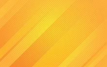 Abstract Yellow Background With Diagonal Line. Minimal Geometric Background