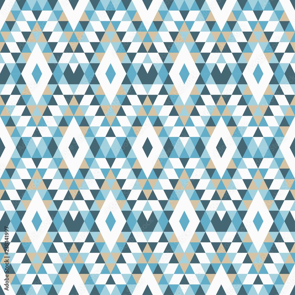 Obraz Ethnic Boho Seamless Pattern Traditional Ornament