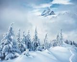 Creative collage. Location Swiss alps, Switzerland, Europe.