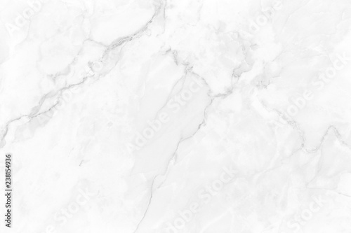 Fototapeta White gray marble background with luxury pattern texture and high resolution for design art work. Natural tiles stone. obraz