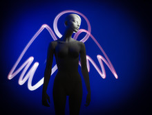 Mannequin Woman In The Image O...