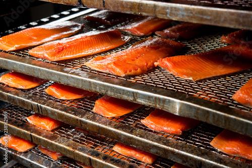 Fotografie, Obraz  fish factory process
